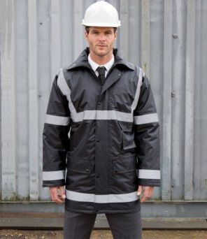 RS23 Result Work-Guard Reflective Management Coat